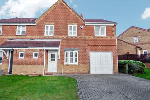 4 bedroom semi-detached house for sale - Skipton Close, Hazelmere, Bedlington, Northumberland, NE22 6NP