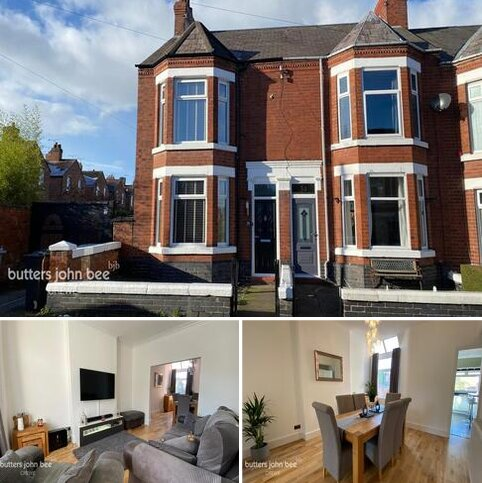 3 bedroom end of terrace house for sale - Stamford Avenue, Crewe