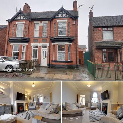 2 bedroom semi-detached house for sale - North Street, Crewe