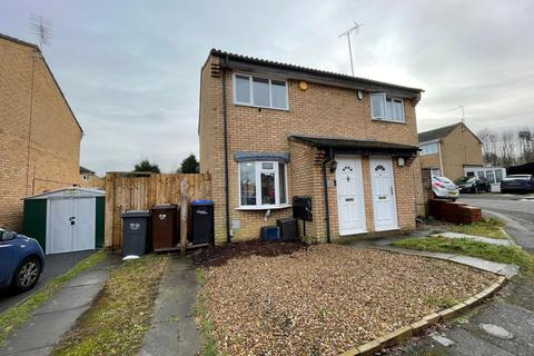 2 bedroom semi-detached house for sale - Hamsterly Park, Southfields, Northampton NN3 5DX