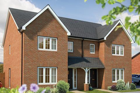 3 bedroom semi-detached house for sale - Plot The Cypress II 099, The Cypress II at Hampton Water, Hampton Water, Aqua Drive, Off London Road - A15, Braymere Road, Peterborough PE7