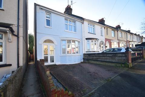 3 bedroom end of terrace house for sale - Second Avenue, Gillingham, ME7
