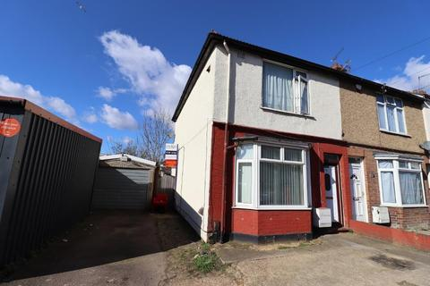 3 bedroom end of terrace house for sale - Tudor Road, Leagrave, Luton, Bedfordshire, LU3 1RN