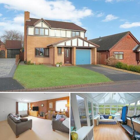 4 bedroom detached house for sale - Barnwell Close, Crewe