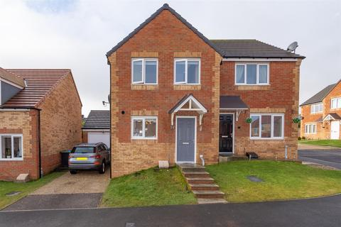 3 bedroom semi-detached house for sale - Dewhirst Close , Consett, DH86LF