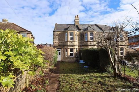 3 bedroom end of terrace house for sale - Alexandra Place, Combe Down, Bath