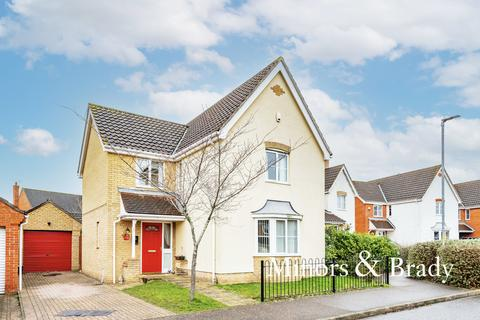 4 bedroom detached house for sale - Canfor Road, Rackheath