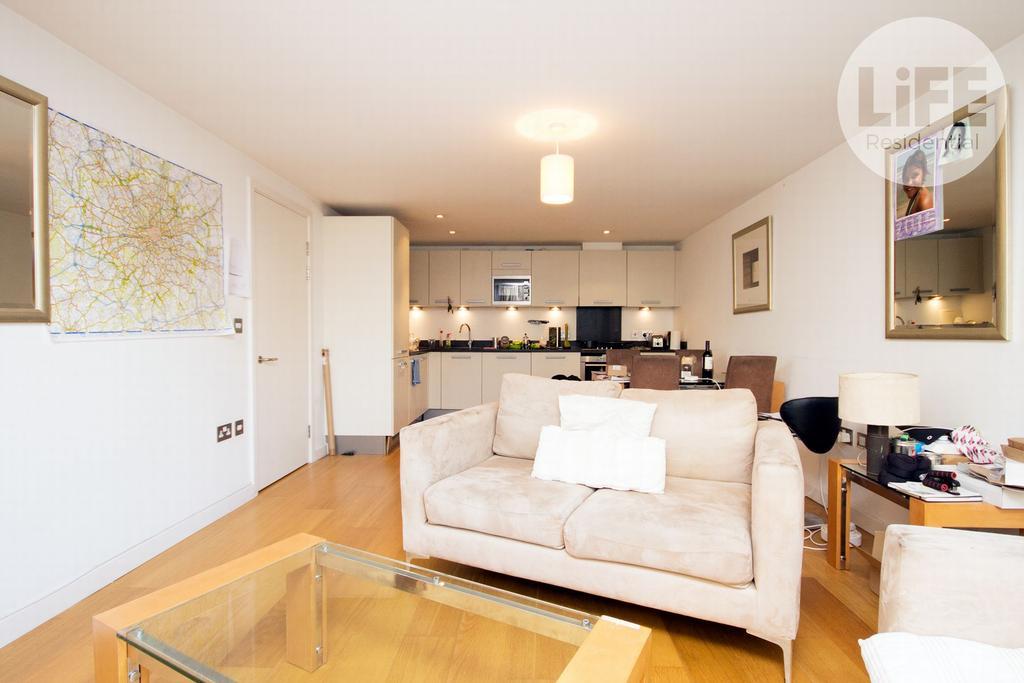 Living Room & Kitchen
