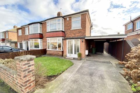 3 bedroom semi-detached house for sale - Croxdale Grove, Fairfield, Stockton, TS19 7AT