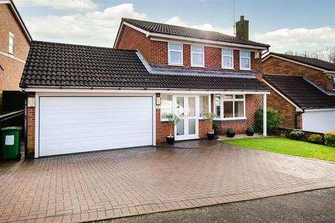 4 bedroom detached house for sale - Linnet Close, Narborough.