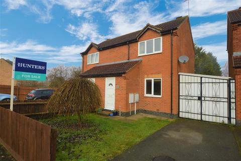 2 bedroom semi-detached house for sale - Ervins Lock Road , Wigston, LE184NQ