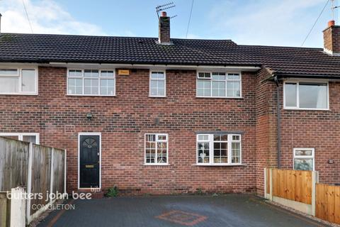 3 bedroom terraced house for sale - Woolston Avenue, Congleton