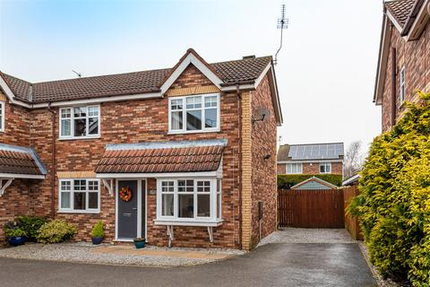 3 bedroom semi-detached house for sale - Beech Tree Close, Beverley, East Yorkshire, HU17 9UW