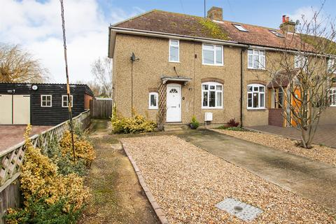 3 bedroom end of terrace house for sale - Station Road, Long Marston