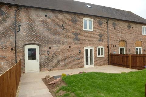 3 bedroom barn conversion to rent - Manor Farm , Manor Road, Madeley