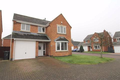 4 bedroom detached house for sale - Lychgate Close, Burbage, Leicestershire
