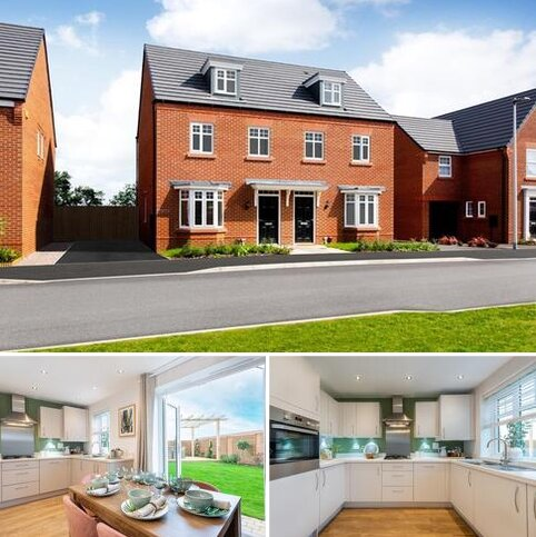 3 bedroom terraced house for sale - Plot 170, Kennett at David Wilson Eagles' Rest, Burney Drive, Wavendon MK17