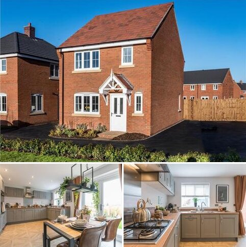 3 bedroom detached house for sale - Plot 72, Tiverton at Dukes Field, Barns Way, Desford LE9