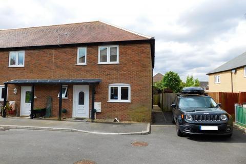 3 bedroom end of terrace house for sale - Olivia Close, Hamworthy, Poole, Dorset, BH16