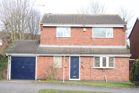 3 bedroom detached house for sale - Outlands Drive, Hinckley
