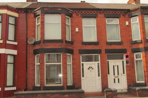 3 bedroom terraced house to rent - Gainsborough Road, Wavertree, Liverpool, L15 3HX