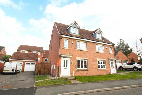 4 bedroom townhouse for sale - Hastings Drive, Shiremoor, Newcastle Upon Tyne