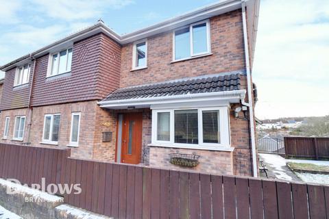 4 bedroom semi-detached house for sale - Beaufort Rise, Ebbw Vale