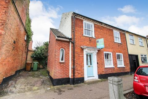 3 bedroom end of terrace house for sale - High Street, Loddon, Norwich