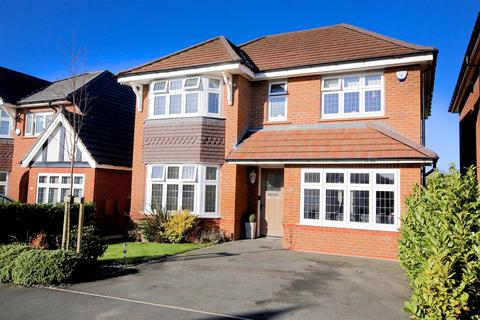 4 bedroom detached house for sale - Pinfold Drive, Prestwich, Manchester