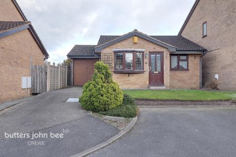 2 bedroom detached bungalow for sale - Keswick Close, Wistaston, Crewe