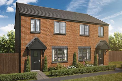 3 bedroom semi-detached house for sale - Plot 136, The Cherry at Havannah Park, Coach Lane, Hazlerigg NE13