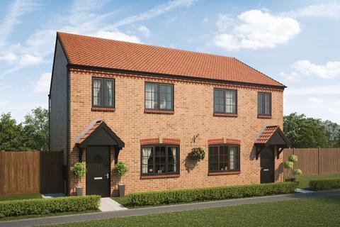 3 bedroom semi-detached house for sale - Plot 208, The Cherry at Arcot Manor, Off Fisher Lane, Cramlington NE23