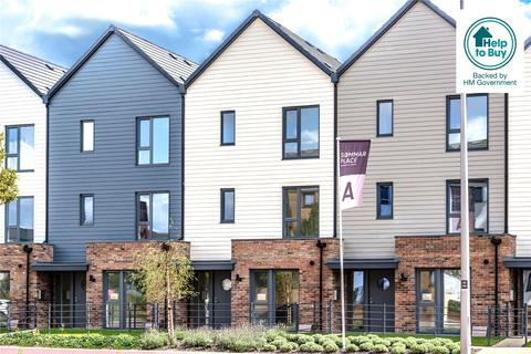 4 bedroom terraced house for sale - Sommar Place, Countess Way, Broughton, Milton Keynes, MK10