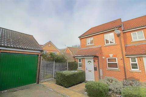 2 bedroom end of terrace house for sale - Rushton Grove, Church Langley