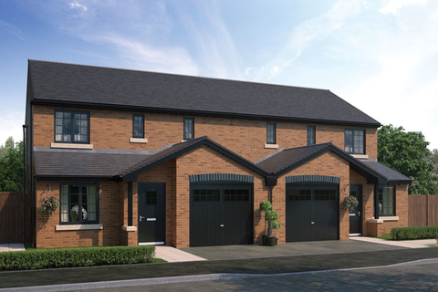 3 bedroom semi-detached house for sale - Plot 230, The Peony at Ottermead at Jameson Manor, Off North Road, Ponteland NE20