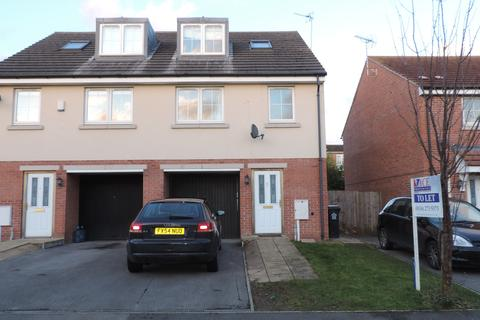 3 bedroom end of terrace house to rent - Woodleigh Close,  Leicester, LE5