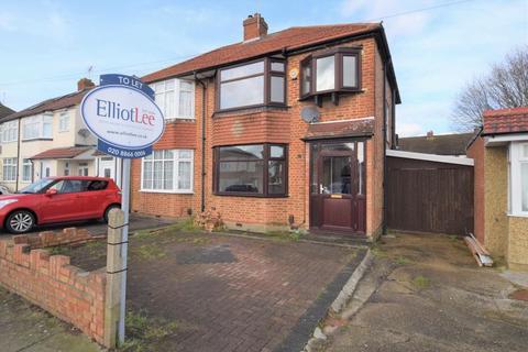 3 bedroom semi-detached house to rent - Ryefield Avenue, Hillingdon, Uxbridge, Middlesex