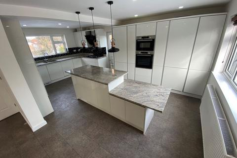 4 bedroom detached house to rent - Tiverton Close, Oadby, Leicester, LE2 4JH