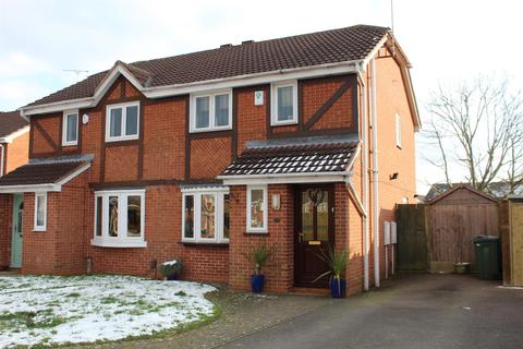 3 bedroom semi-detached house for sale - Sword Close, Glenfield, Leicester