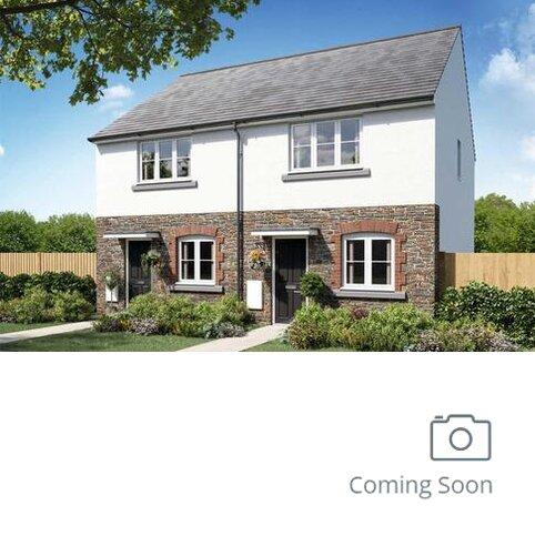 2 bedroom semi-detached house for sale - Plot 02, The Harcourt at Trenant Gardens, Higher Trenant Rd, Wadebridge, Cornwall PL27